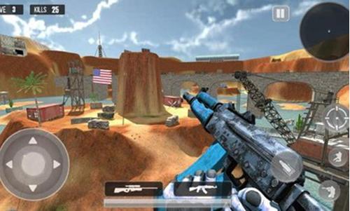 山地狙击手3D射手破解版下载