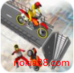 坡道摩托特技