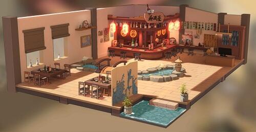 《苍蓝誓约》3D基建玩法全解析