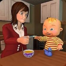 虚拟妈妈婴儿模拟器游戏