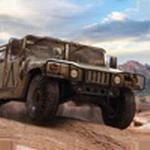 沙漠越野皮卡司机