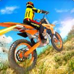 越野摩托山地车赛车游戏3D