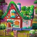 大农场家庭和花园