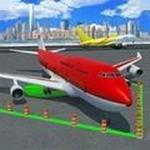 飞机停机模拟器