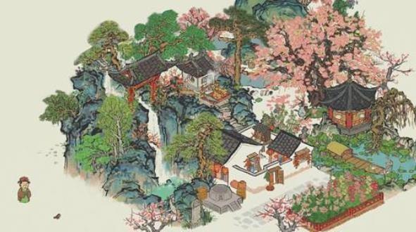 江南百景图桃林茅屋在哪里?