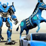 斑马变形机器人