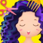 发型沙龙公主装扮