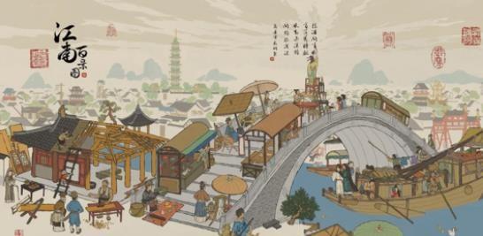 江南百景图百合花探险资源在哪?